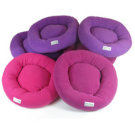 Double Velour Fleece Small Breed Bolster Bed