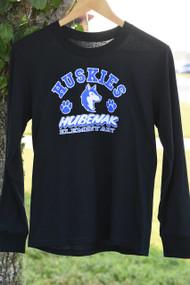 Husky Cheer Long Sleeve- Black (AM-A3XL ONLY)