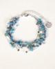 Silk Thread Bracelet - Blue