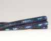 Leather & Crystal Wrap Bracelet - Blue