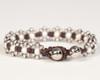 Pearl Daisy Chain Bracelet - White & Silver