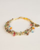 Bird's Nest Bracelet - Gold Multi-Colored