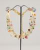 Bird's Nest Necklace - Gold Multi-Colored