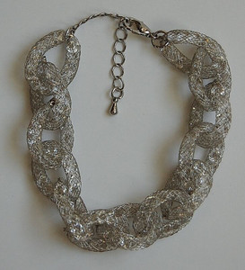 Silver Link Galaxy Bracelet