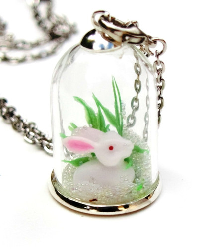 Make your own woodland pendant deer huckleberry make your own woodland pendant rabbit aloadofball Image collections