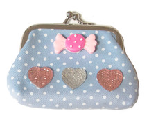 Make Your Own Designer Purse - Blue Sweetie