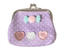 Make Your Own Designer Purse - Purple Sweetie