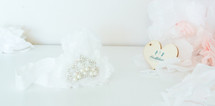 Baby Princess Headband - White