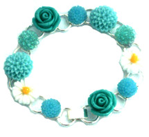 Make Your Own Bracelet Kit (Vintage Blue)