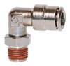 "1/2"" Hose 1/2"" NPT 90* Fitting Nickel Plated"