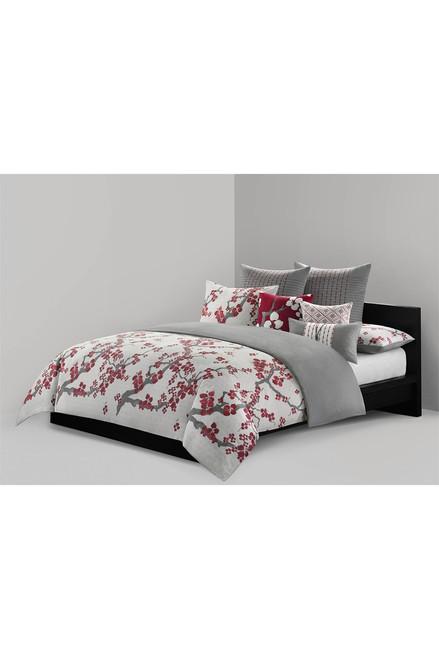N Natori Cherry Blossom Oblong Pillow at The Natori Company