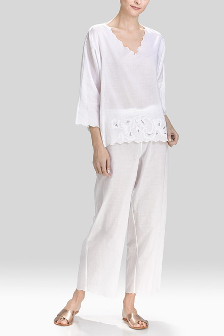 Buy Natori Cotton Voile With Applique PJ from