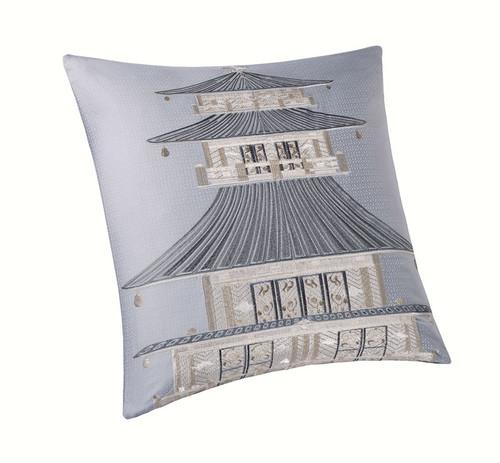 Lotus Temple Square Pillow at The Natori Company