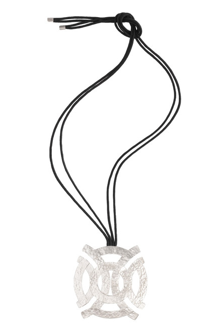 Buy Silver Geo Necklace from