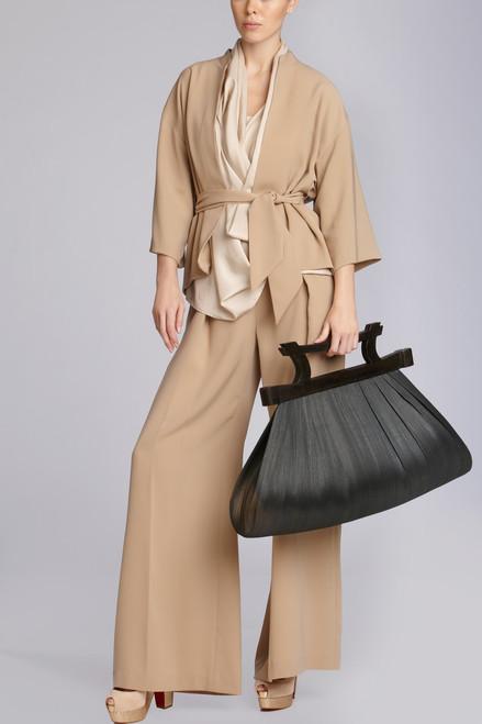 Natural Buntal Bag at The Natori Company