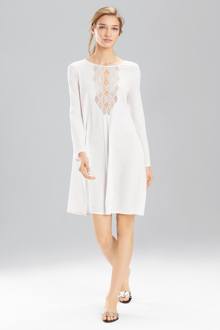 Buy Natori Tranquility With Lace Sleepshirt from