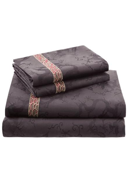 Buy Natori Fretwork Dragon Sheet from