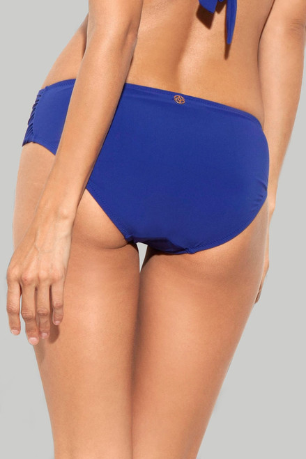 Deco Blue Full Coverage Bottom at The Natori Company