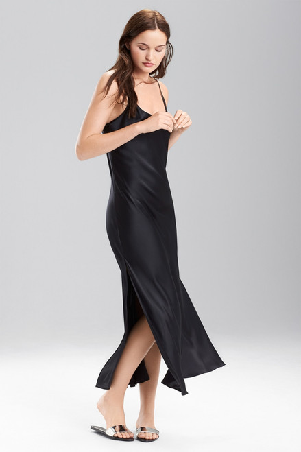 Buy Josie Natori Lolita Long Gown with Slit from