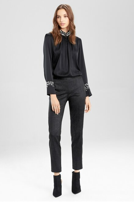 Buy Black Chintz Pants from