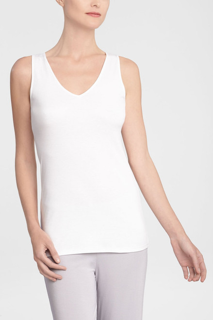 Buy Natori Solid Cotton Knit Tank from