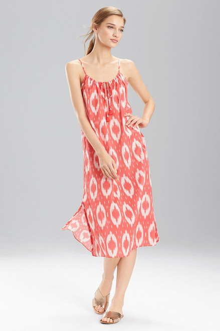 Buy Natori Batik Gown from