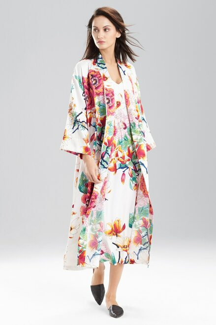 Buy Peony Bouquet Robe from