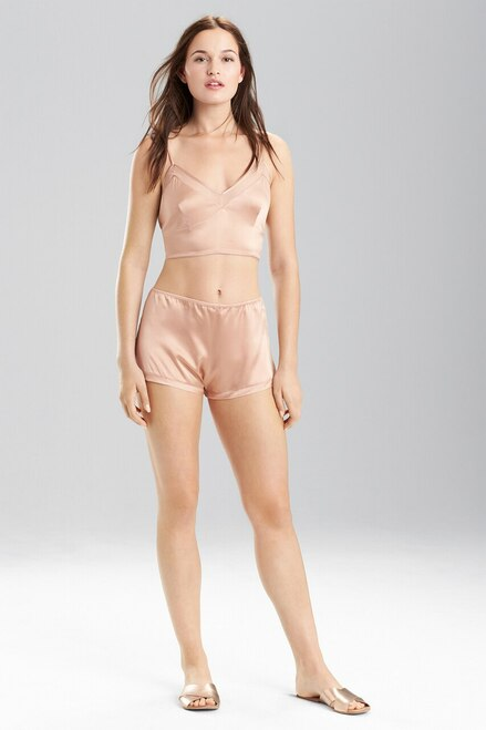 Buy Josie Natori Stretch Silk Charmeuse Cropped Cami from