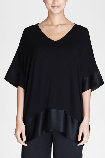 Josie Natori Lounge Essentials Top at The Natori Company