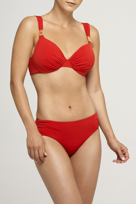 Full Coverage Red Top at The Natori Company