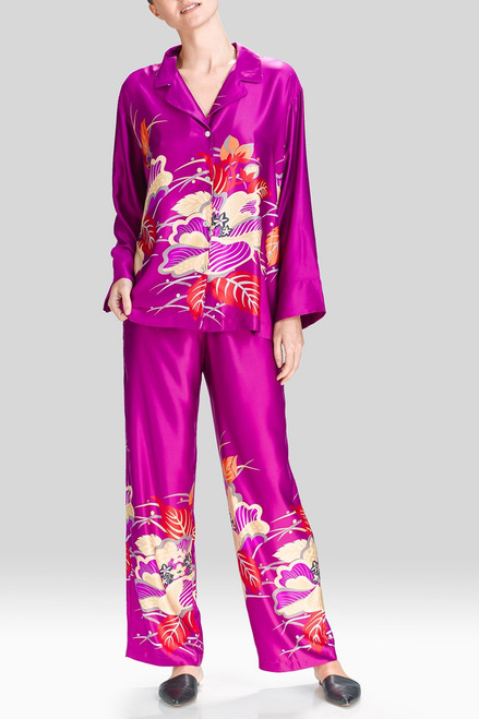 Buy Natori Imperial Floral Notch PJ from