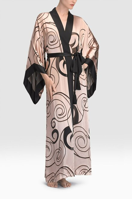 Buy Josie Natori Scroll Burnout Robe from