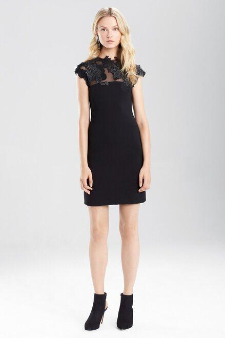 Buy Josie Natori Duchess Satin Dress With Embellishment from