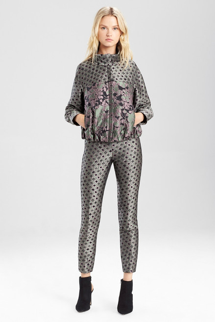 Buy Josie Natori Ornamental Jacquard Pants from