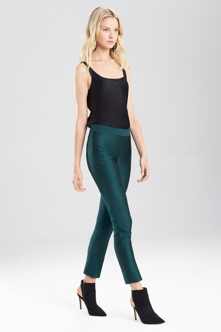 Buy Josie Natori Pebble Jacquard Pants from