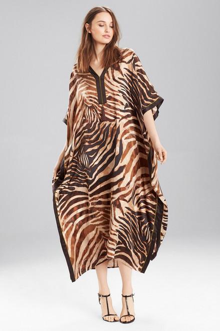 Buy Josie Natori Zebra Caftan from