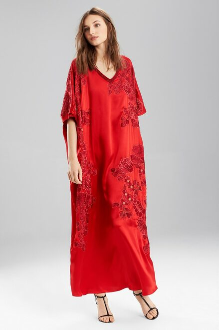 Buy Josie Natori Couture Jacquard Embroidery Caftan from