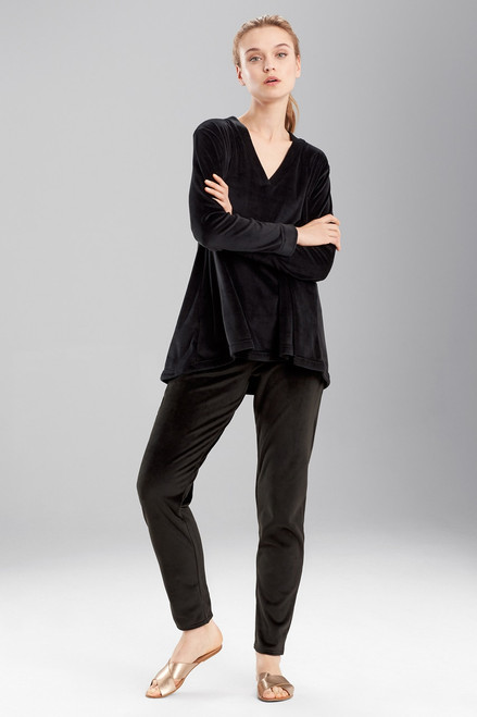 Buy N Natori Velour Long Sleeve Top from