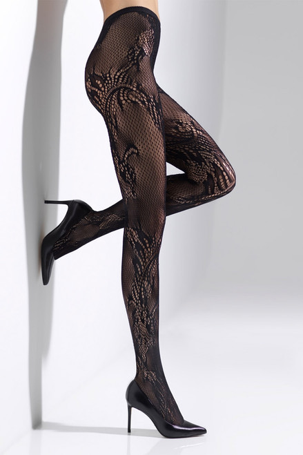 Buy Natori Feathers Lace Net Tights Style NTF6-370 from
