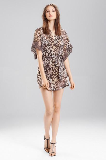 Buy Josie Natori Shadow Leopard Wrap from