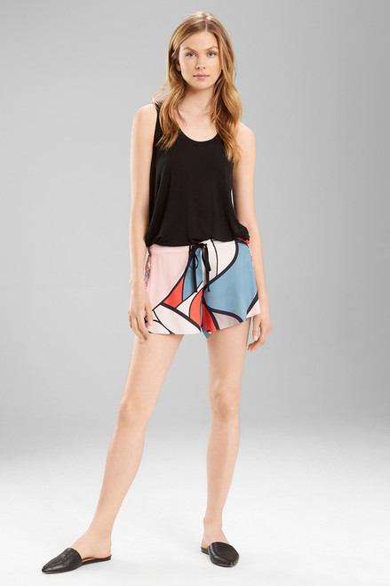 Buy Josie Deco Glass Track Shorts from
