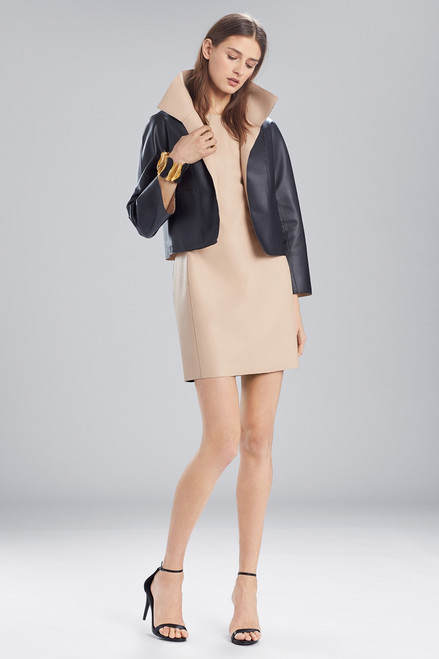 Buy Josie Natori Faux Leather Short Topper from