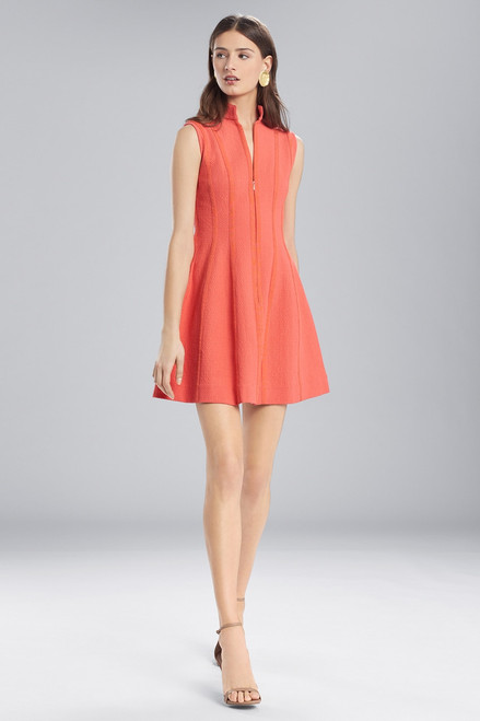 Buy Josie Natori Textured Cotton Sleeveless Dress from