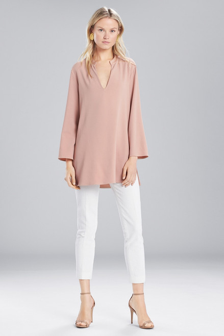 Buy Josie Natori Satin Back Crepe Tunic from