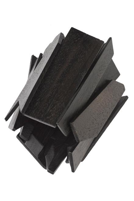 Buy Josie Natori Acacia Wood Geometric Bracelet from