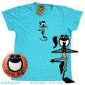 Women's Cotton Yoga T-Shirt from Grin Big!™ where you can shop the official website with free shipping at $40 in the USA