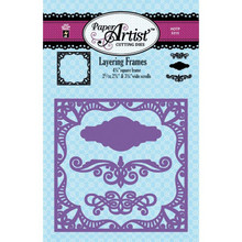 Paper Artist 5315 Layering Frames Square with 3 Accents