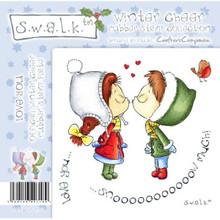 Swalk Winter Cheer Collection LOVE YOU EZMount Stamp Set