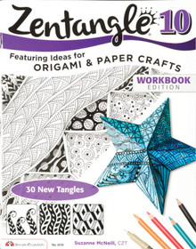 Zentangle 10 Ideas for Origami & Paper Crafts Drawing Inspiration Ideas Instruction