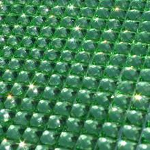 Dazzling Diamond Lime Green Self Adhesive Bling Trims Pack